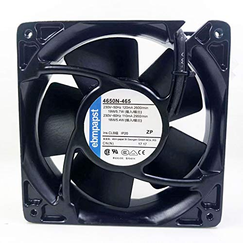N+A High Temperature Resistant Cooling Fan for 4650N-465 Fan ebmpapst 4656N 12038 4 Inch AC220V 12CM