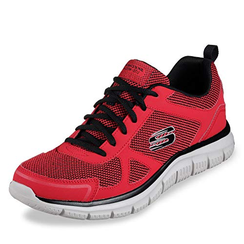 Skechers Herren 52630-RDBK_43 Sports Shoes, red, EU