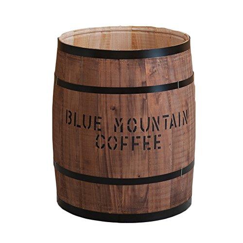 収納 大サイズ 日本製 ヒノキ 檜 天然木 樽 木箱 木樽 小物入れ 収納 ゴミ箱 国産 ひのき/ブラウン