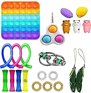 Fidget toy set 22 packs, adults and children feel that toy outfits are cheap, stress relief and anti-anxiety tools, Fidget...