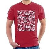 Hasbro Board Game Retro Montage Men's T-Shirt