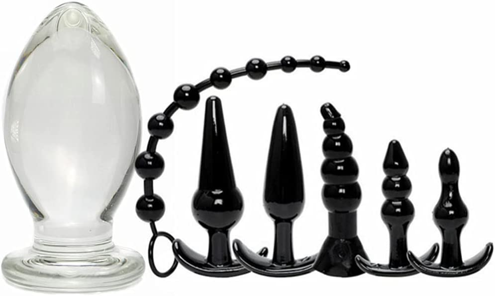 Sale item Butt Plug Regular store Glass Anal Adult for Men Train Sex Toy