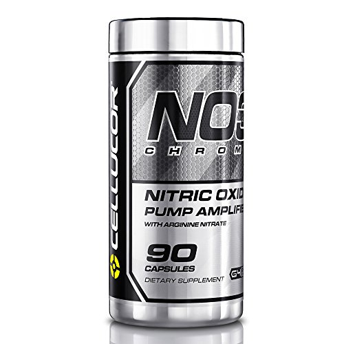 Cellucor NO3 Nitric Oxide Pump Amplifier with Arginine Nitrate, 180 Capsules