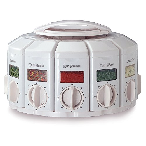 KitchenArt Select-A-Spice Auto-Measure Carousel Professional Series,...