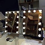 FXLYMR Lámparas de Pared Candelabros Lámparas de Ahorro de Energía Kit de Luz de Espejo Led Luz de Espejo de Estilo, Luz de Maquillaje Luces de Módulo de Luz de Tocador Luz de Baño para Maquillaje Me