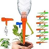 自動給水キャップ 水やり当番 自動水分量調節 自動散水システム 自動水やり器 水遣り機 植物 栽 野菜 庭園 ガーデニング 留守用 10本セット