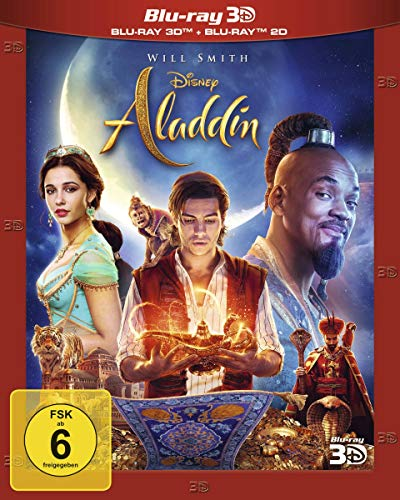 Aladdin (Live-Action) [3D Blu-ray]