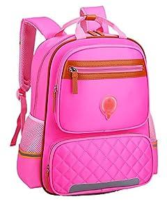 Mochila Infantil para Niños Pequeños Mochila para Niños Escolares Mochila Pink Grande L