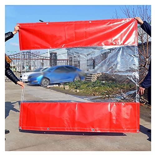 AWSAD Lona Transparente con Ojales Toldo Transparente Lonas Transparentes Durable Reforzado Camping Al Aire Libre Revestimiento de Doble Cara Rojo 33 Tamaño (Color : Blue, Size : 2x3m)