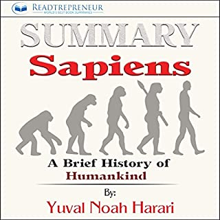 Summary: Sapiens: A Brief History of Humankind audiobook cover art