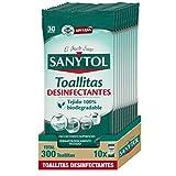 Sanytol Toallitas Desinfectantes Multiusos 130 g - Pack de 10