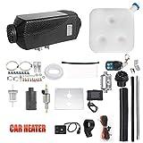 Vinteky Calefacción Estacionaria 12V Diesel, 5000W Calefacción Estacionaria Monitor LCD, Calentador de Aire Diesel para Coche, Negro
