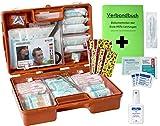 Erste-Hilfe-Koffer KITA DIN 13157 für Betriebe incl. Hygiene-Ausstattung + kindgerechter Pflaster + Verbandbuch K15