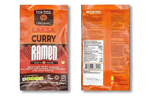 King Soba Fideos Ramen Salsa Curry Laksa S/G King Soba 1 Unidad 200 g