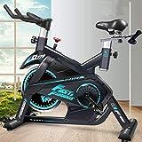 CDPC Bicicleta de Ejercicio aeróbica Interior/máquina de Entrenamiento Cardiovascular de Fitness en Ciclo