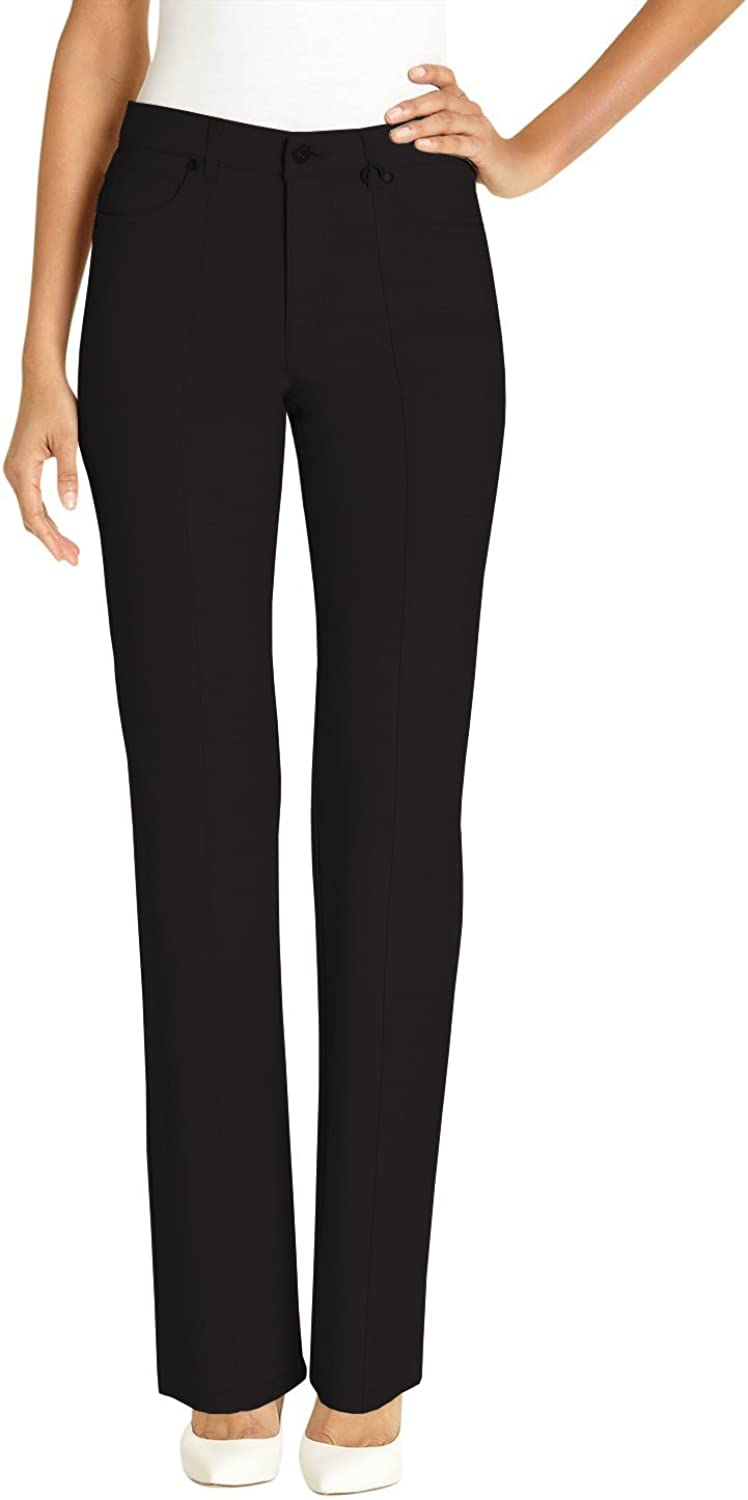URREBEL Pants for WomensSimon Chang Straight Leg Micredwill(Style 35302R)