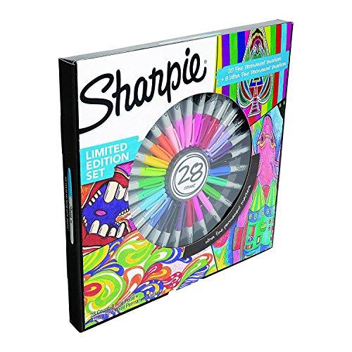 Sharpie 2016852–Juego de 28rotuladores permanentes edición limitée-, varios colores