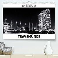 Ein Blick auf Travemuende (Premium, hochwertiger DIN A2 Wandkalender 2022, Kunstdruck in Hochglanz): Ein ungewohnter Blick auf Luebeck-Travemuende in harten Schwarz-Weiss-Bildern. (Monatskalender, 14 Seiten )