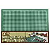 The Army Painter  | tapete de corte autorreparable de doble cara de PVC antideslizante - 3 capas cuadriculado en miniatura y tabla de cortar modelo, tamaño A4