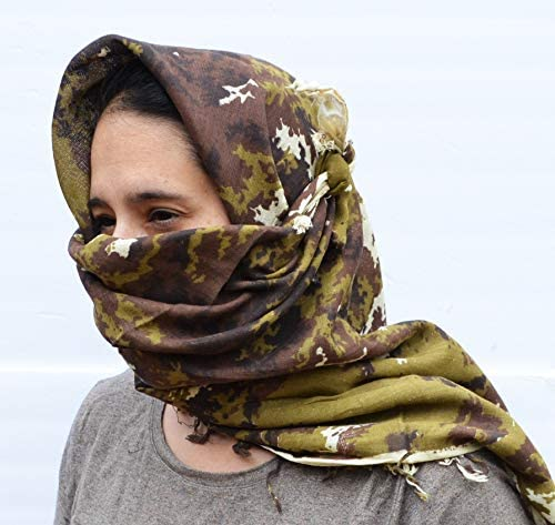 Tactical Shemagh Head Scarf Keffiyeh Balaclava Military Authentic Pakistani A TACS product image