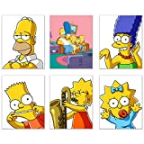 Picture This Prints Simpsons Posterdrucke – Set von 6