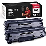 LEMERO Compatible Toner Cartridge Replacement for HP 79A CF279A to use with Laserjet Pro M12w M12a MFP M26nw M26a (Black, 2-Pack)