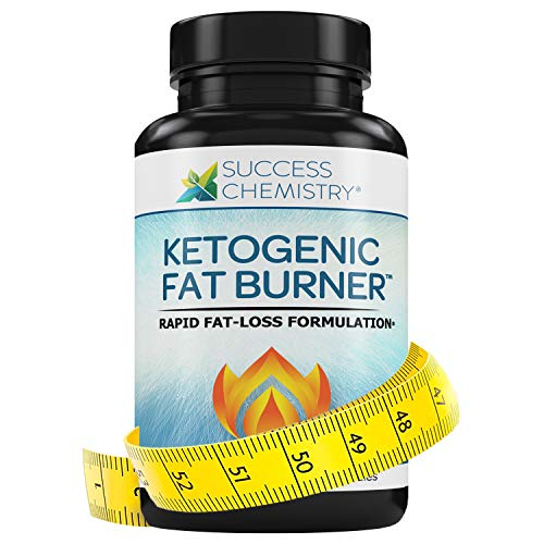 Ketogenic Fat Burner Women & Men - Burn Belly Fat Fast - Carb Blocker - Weight Loss - Focus - Achieve Perfect Ketosis - Diet Pill - Non GMO - 60 Veggie Caps