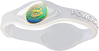 Power Balance Silicone Wristband Bracelet with Holograms to Improve Energy and Body Balance in Sports