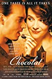 Chocolat Movie Poster - Johnny Depp Duliette Binoche