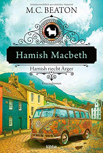 Buchseite und Rezensionen zu 'Hamish Macbeth riecht Ärger' von M. C. Beaton