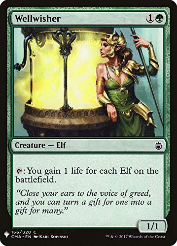 Magic: The Gathering - Wellwisher - Mystery Booster - Commander Anthology