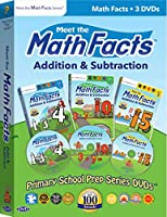 Meet the Math Facts 3 DVD Boxed Set