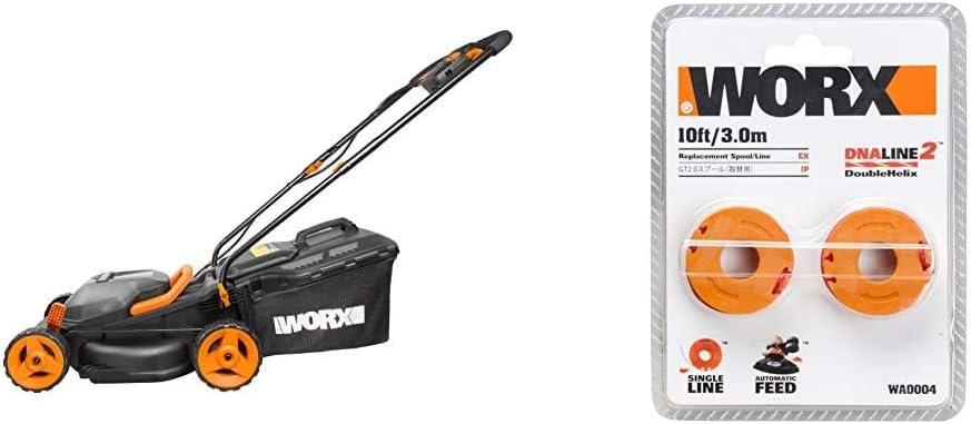 20 V WORX WG779E.2 36V /& WA3551.1 18V 20V MAX 40V MAX 2.0Ah Battery Pack 40 W Cordless 34cm Lawn Mower Dual battery x2 20V Batteries