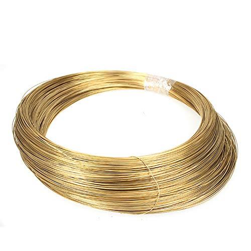 Yangliu 1KG/35.3OZ Messing Massieve Blote Draad Kralen Sieraden Maken Craft Wire DIY Diameter:1mm/1.5mm/2mm/2.5mm/3mm,Diameter:2.5mm