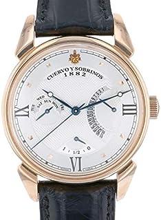 クエルボ・イ・ソブリノス CUERVO Y SOBRINOS ヒストリアドール トルピードレトログラード 3194-9A 新品 腕時計 メンズ (31949A)