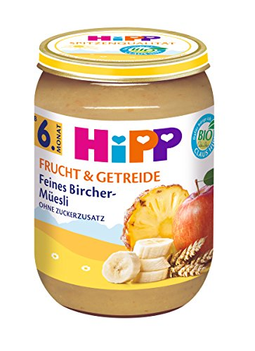 HiPP Feines Bircher-Müesli, 6er Pack (6 x 190 g)