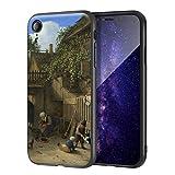 Berkin Arts Adriaen Van Ostade para el Caso del iPhone XR/Estuche para teléfono móvil de Bellas Arte...