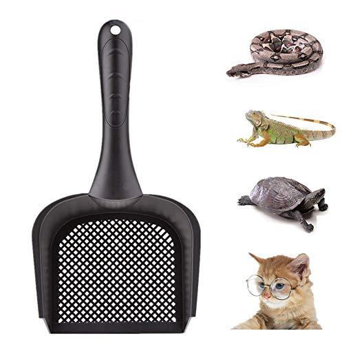 Sunnysam 1 Stück Katzenstreuschaufel Katzenschaufel Katzenschaufel Reptiliensand Fein Sifter Reptil Terrarium Bettzeug Reiniger Netz Schaufel