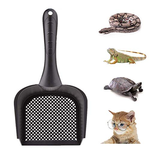 Sunnysam - 1 Pala de Arena para Gatos, para Gatos, Reptiles, Arena, para Reptiles, terrarios, Ropa de Cama, Limpiador de Arena