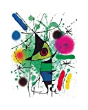 Joan Miró Poster/Kunstdruck The Singing Fish 40 x 50 cm