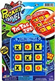 Tic Tac Toe Travel Portable Pocket Board Games (Pack of 1) by JARU. Assortment of Classic Toys Party Favors Toy| Item #3256-1