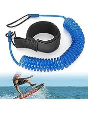 JEEZAO 10ft Body Board enkellijn,SUP Lijn opgerold voor Surfboard Paddle Board Kajak Longboard,Surfen Foot Strap