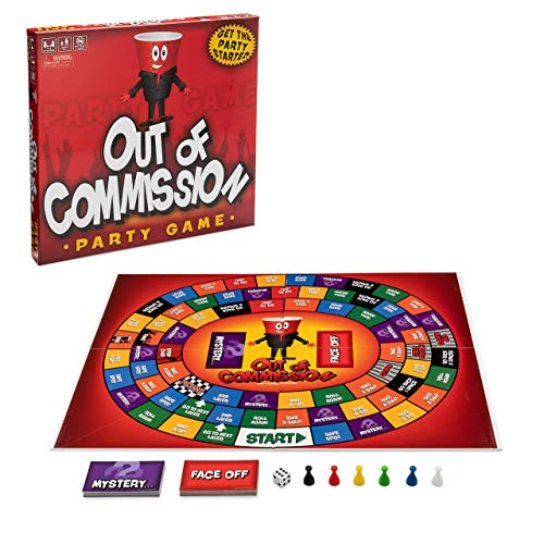 Out of Commission Party Game [an Adult Drinking Board Game]