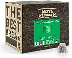 Note d'Espresso - Lot de 100 capsules de café - Exclusivement compatible avec machine Nespresso* - Classico - 100 x 5,6 g