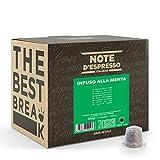 Note d'Espresso - Menta Poleo - Cápsulas - Compatibles con Cafeteras de Cápsulas Nespresso*