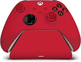Controller Gear Pulse Red Universal Xbox Pro Charging Stand with 1100 Mah Rechargeable Battery, Charging Dock, Charging St...