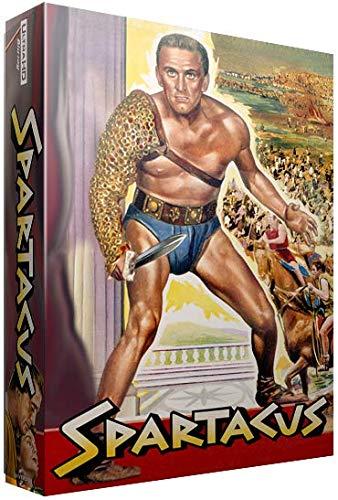 Spartacus - Exklusiv Full-Slip Steelbook Edition 4K UHD + (Blu-ray Deutscher Ton) + Art Cards + Poster + Booklet + usw - EverythingBlu 006 Import