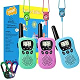 3 Pack Walkie Talkies for Kids, Toys for 3-12 Year Old Boys Girls