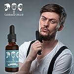 The Gentlemen's Premium Bay Rum Beard Oil - Conditioner Softener - All Natural - Softens, Strengthens and Promotes Beard… 3