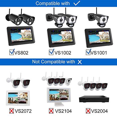 CasaCam VC1000 AC Powered HD Spotlight Camera for VS1002, VS1001 and VS802 7